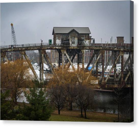 House Bridge Canvas Print