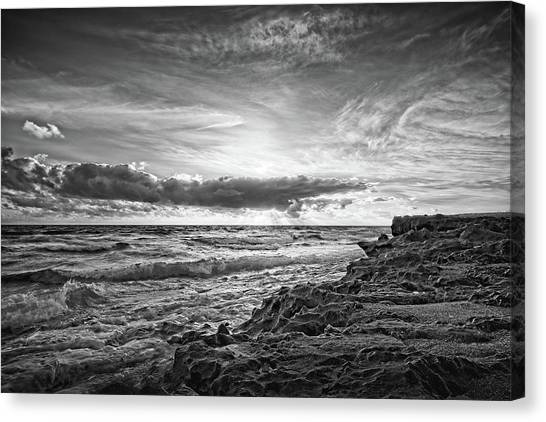 House Of Refuge Beach 3 Canvas Print