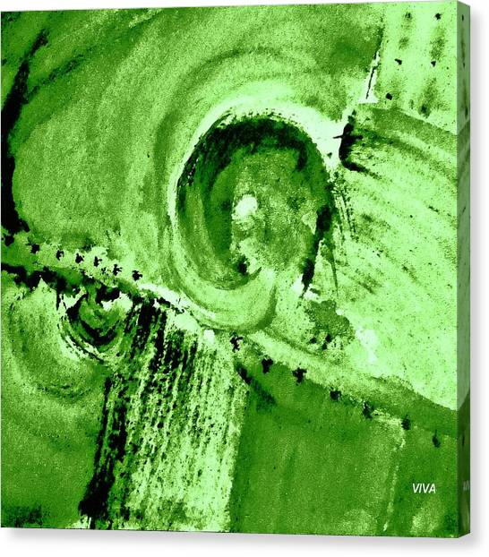 How Green Was My Valley Canvas Print