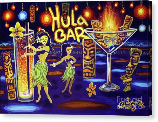 Hula Bar Canvas Print