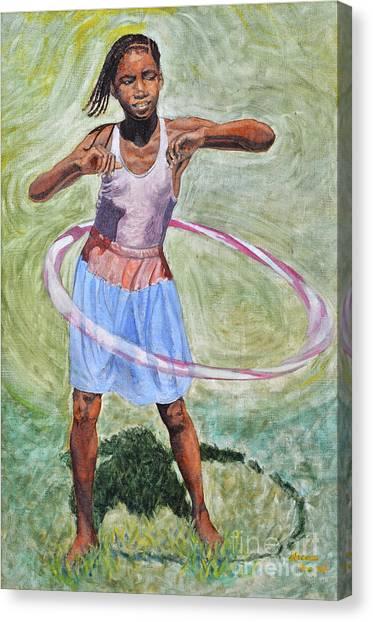 Hula Hoop  Canvas Print