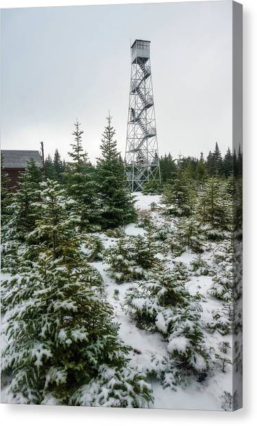 Hunter Mountain Fire Tower Canvas Print