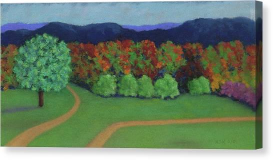 Hutchins Farm In Fall Canvas Print