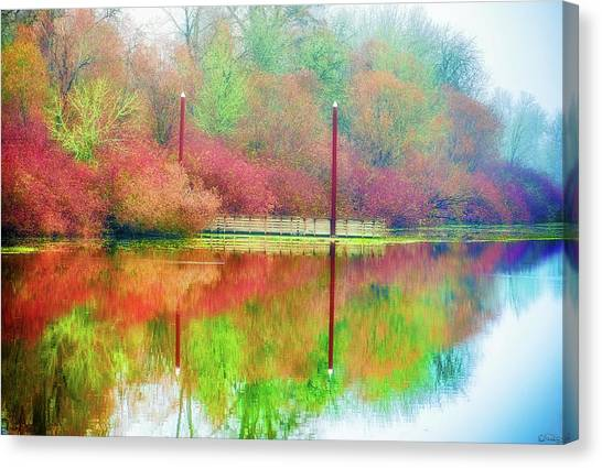 Canvas Print featuring the photograph I Dream Of Autumn by Dee Browning