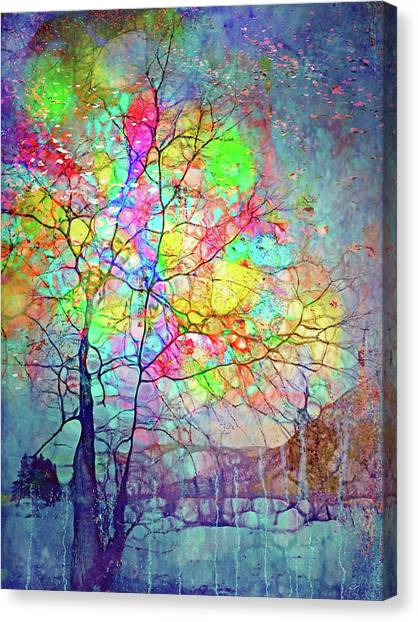 I Will Shine For You, Even In This Storm Canvas Print