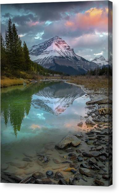 Ice Fields Parkway / Alberta, Canada  Canvas Print