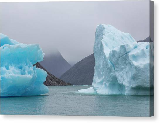 Ice Giants Canvas Print