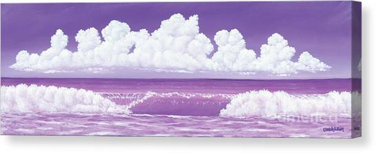 If The Sky Was Purple Canvas Print