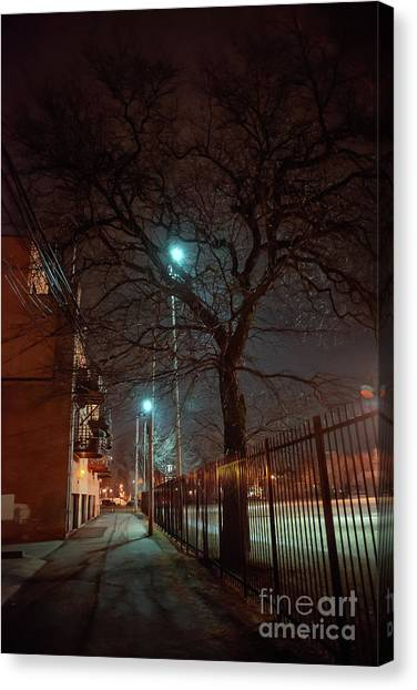 Brick House Canvas Print - If Trees Could Talk by Bruno Passigatti