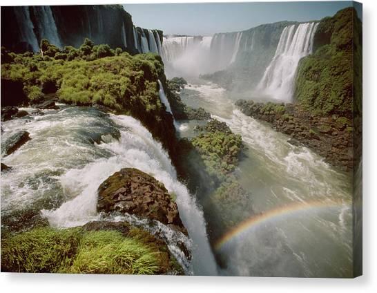 Iguazu Falls Canvas Print by Harald Sund
