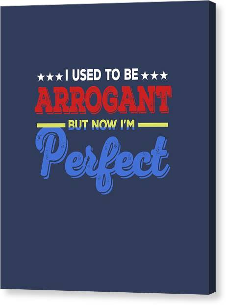 I'm Perfect Canvas Print