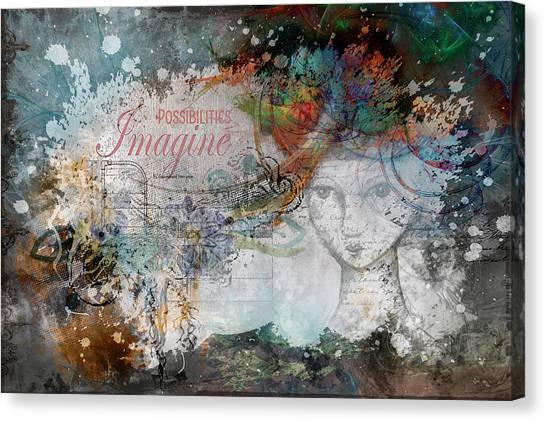 Imagine Possibilities Canvas Print