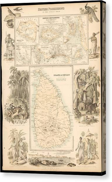 Imperial Possessions Canvas Print by Hulton Archive