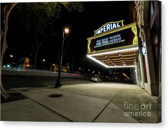 Imperial Theatre Augusta Ga Canvas Print