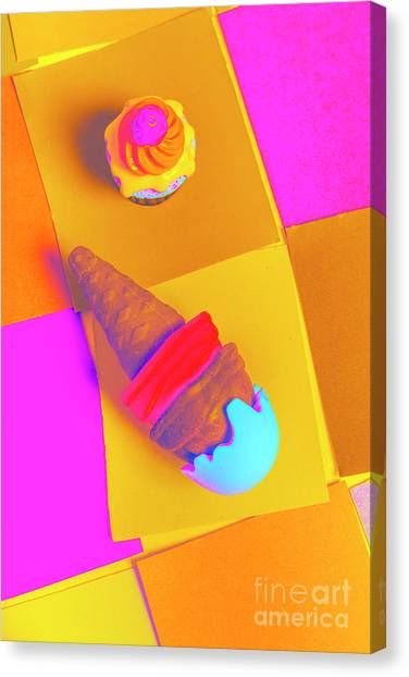 Cakes Canvas Print - In Bubblegum Tones by Jorgo Photography - Wall Art Gallery