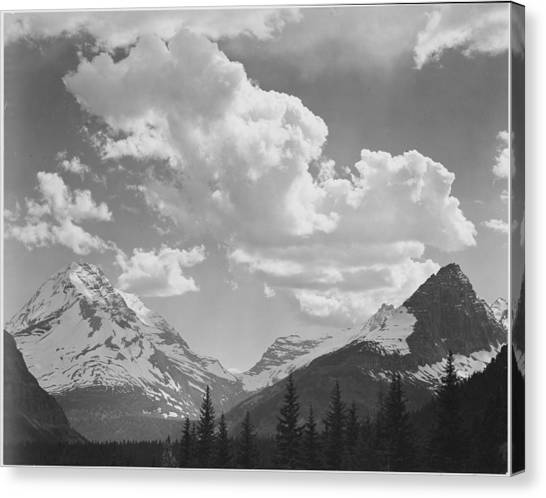 In Glacier National Park Canvas Print by Buyenlarge