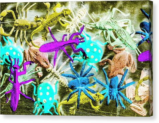 Ants Canvas Print - In Jungles Wild by Jorgo Photography - Wall Art Gallery