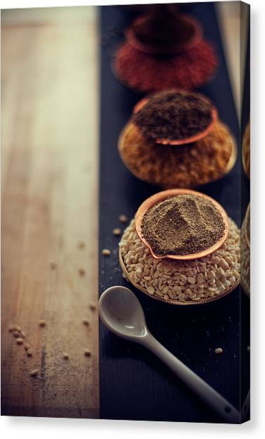Food Canvas Print - Indian Spice by Shovonakar