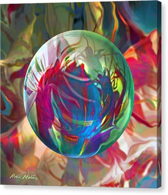 Tropical Plant Canvas Print - Indigofera Tinctorbia by Robin Moline