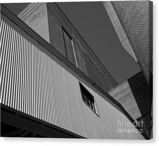 Canvas Print featuring the photograph Industrial Abstract by Patrick M Lynch