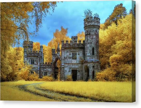 Waterford Canvas Print - Infrared Castle by Photographed By Owen O'grady