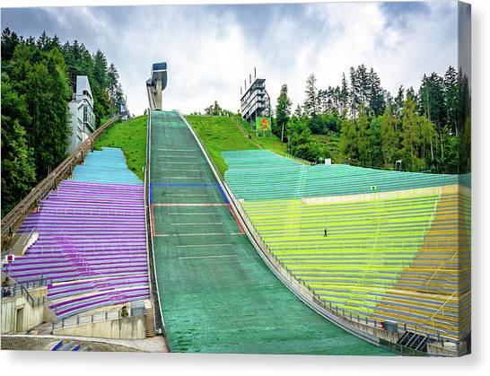 Innsbruck Olympic Stadium Canvas Print