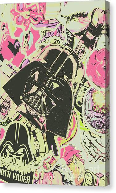 Jedi Canvas Print - Intergalactic Planetary Pop Art by Jorgo Photography - Wall Art Gallery