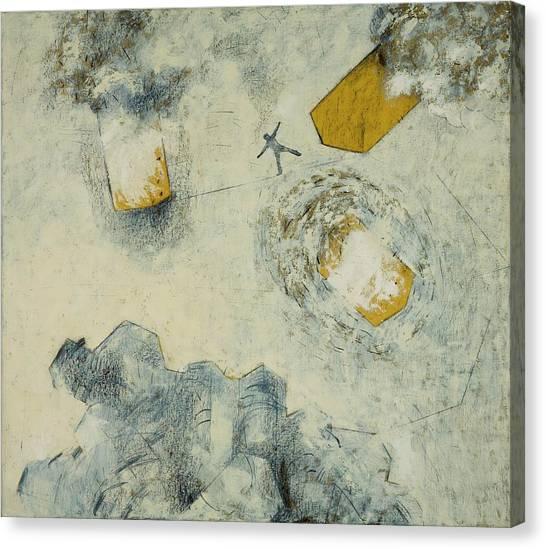 Interlocked Equilibrium, 2005 Oil And Canvas Print