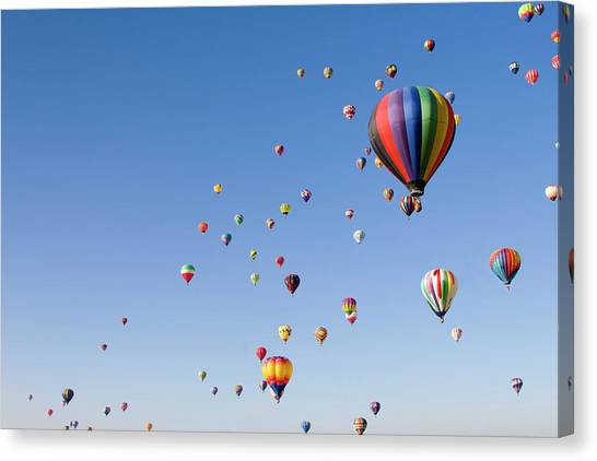 International Balloon Fiesta Canvas Print by Prmoeller
