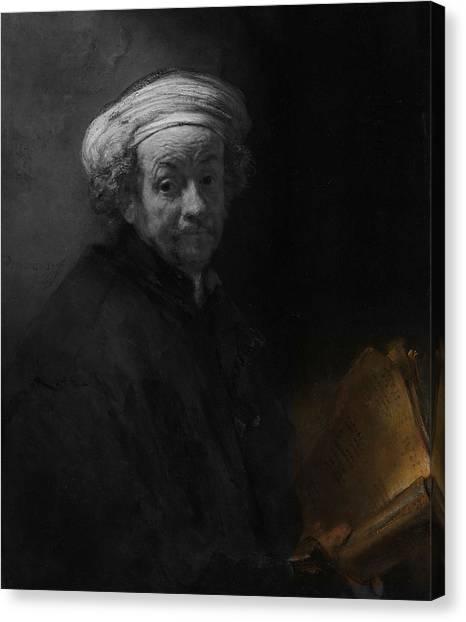 Inv Blend 22 Rembrandt Canvas Print