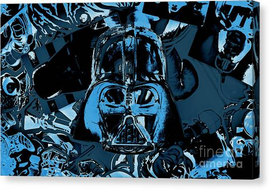 Jedi Canvas Print - Invader by Jorgo Photography - Wall Art Gallery