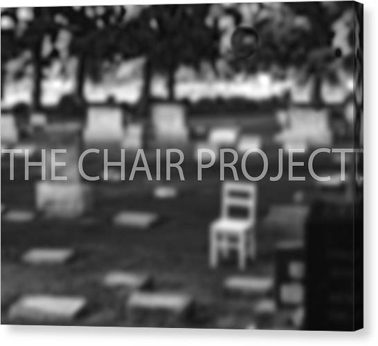 Invitation / The Chair Project Canvas Print
