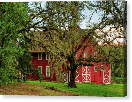 Inviting Country Scene Canvas Print