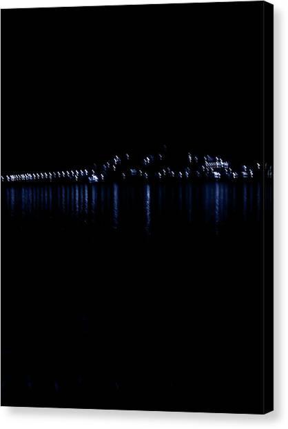 Ioannina - Lake Pamvotis Canvas Print