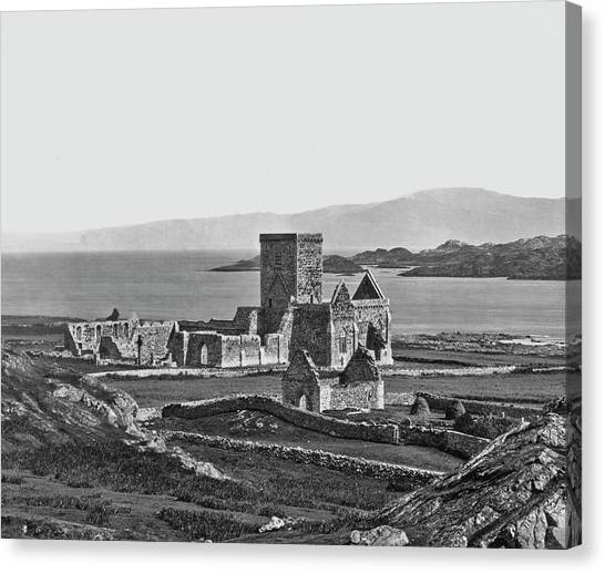 Iona Cathedral Canvas Print