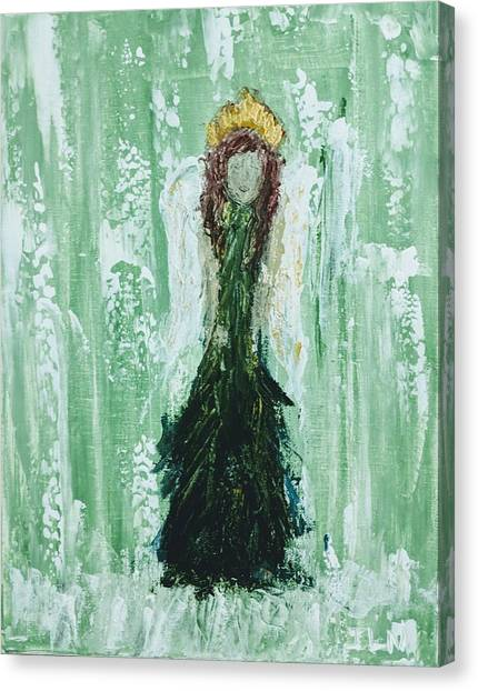 Irish Angel  Canvas Print
