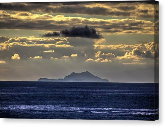 Island Cloud Canvas Print