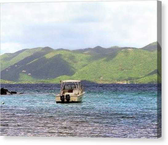 Island View Canvas Print