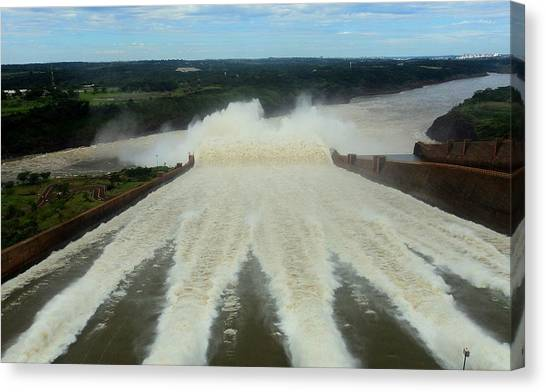 Itaipu Canvas Print by Fbigsilva