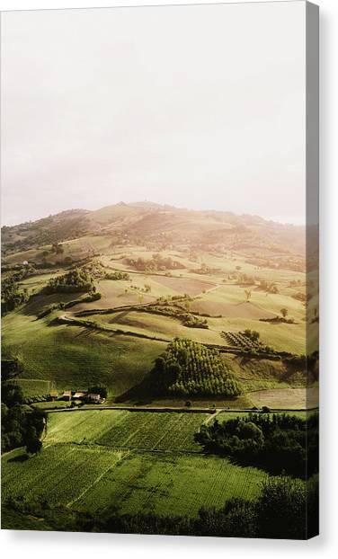 Italian Hill Canvas Print by Antonio Zarrillo
