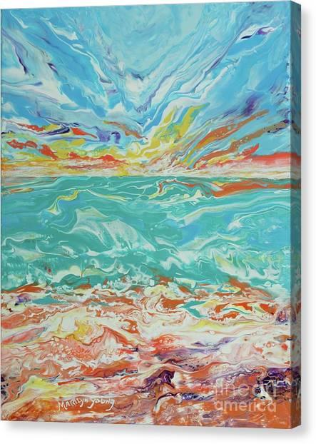 It's A Beach Day Canvas Print