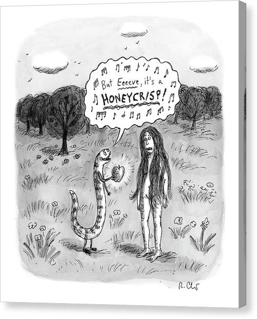 It's A Honeycrisp Canvas Print
