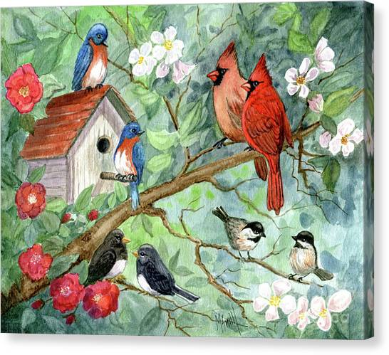 Canvas Print - It's A Spring Thing by Marilyn Smith