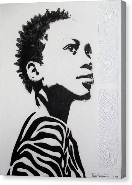 I've Earned My Stripes Canvas Print