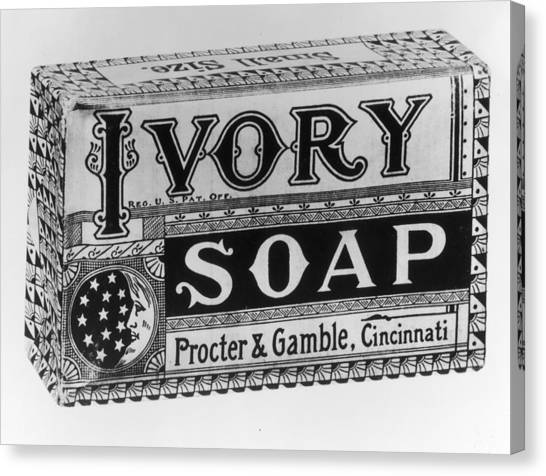 Ivory Soap Canvas Print by Fotosearch
