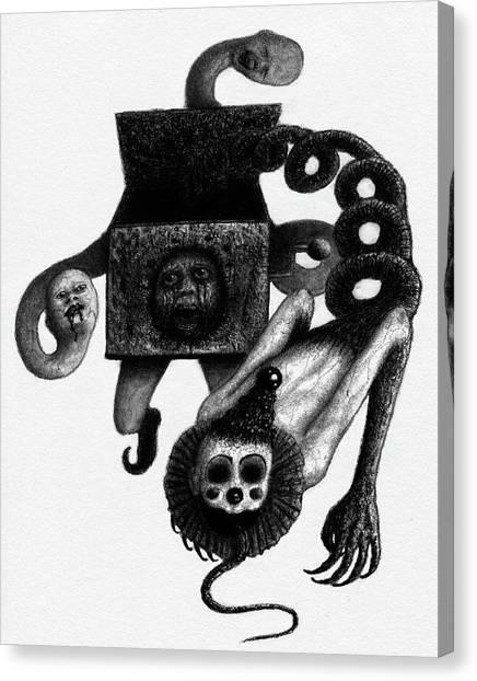 Jack In The Box - Artwork Canvas Print