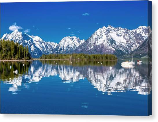 Jackson Lake Canvas Print