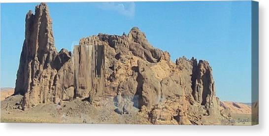 Jagged Rocks Canvas Print