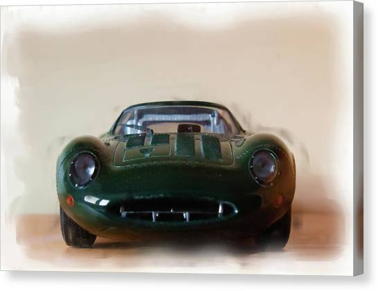 Jaguar Xj13 Canvas Print