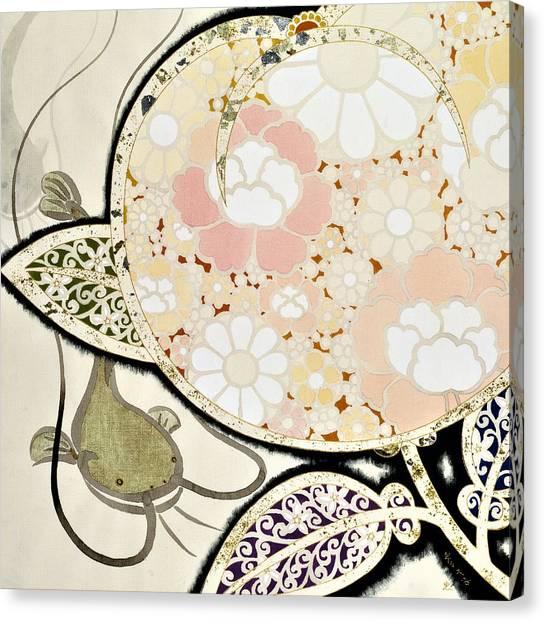Catfish Canvas Print - Japanese Modern Interior Art #111 by ArtMarketJapan